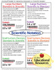 Scientific Notation - Worksheets, Guided Notes, Printables, & Quizzes