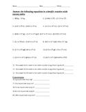 Scientific Notation quiz