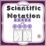Scientific Notation and Standard Form Review Activity Pre-Algebra Game