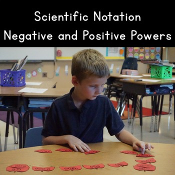 Scientific Notation with Positive and Negative Exponants
