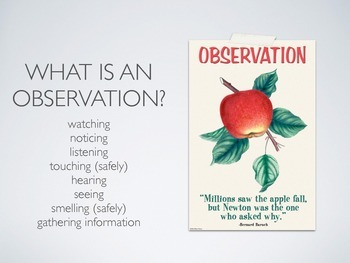 Scientific Observations Bundle