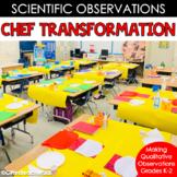 Scientific Observations: Using Your Five Senses Chef Trans