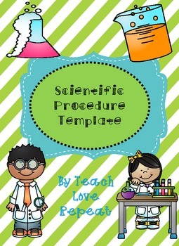 Scientific Procedure Template