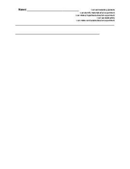 Scientific Process Assessment