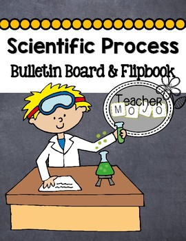 Scientific Process Bulletin Board and Student Flip Book