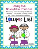 Scientific Process LOLLIPOP LAB Experiment-Measure, Graph, Data Chart, 100th Day