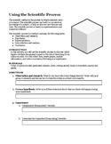 Scientific Process (Method) Sugar Cube Lab