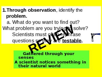 Scientific Process Notes Part 5
