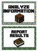 Scientific Process Posters -Minecraft Theme