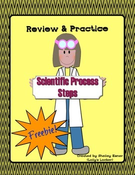 Scientific Process Steps Review and Practice FREEBIE