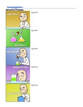Scientific Process Template