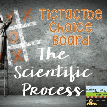 Scientific Process TicTacToe Extension Activities