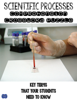 Scientific Processes Comprehension Crossword