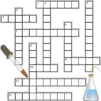 Scientific Processes Crossword Puzzle KEY