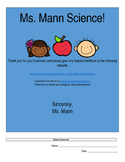 Scientific Question Homework