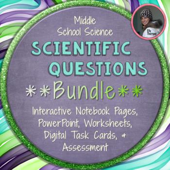 Scientific Method: Scientific Questions BUNDLE