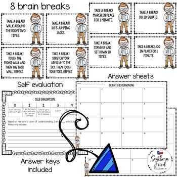Scientific Reasoning Scoot Game/Task Cards