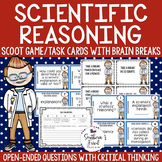 Scientific Reasoning Scoot Game/Task Cards