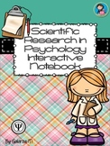 Scientific Methods and Statistics Interactive Notebook