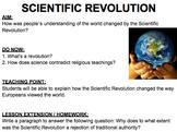 Scientific Revolution: Lesson Plan, Handouts, PowerPoint