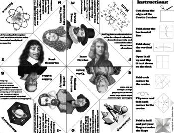 Scientific Revolution Activity