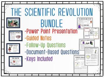 Scientific Revolution Bundle, Power Point, Student Notes,, DBQ
