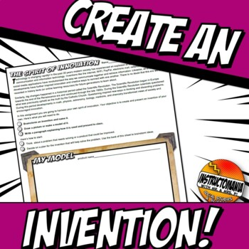 Scientific Revolution Create an Invention Assignment