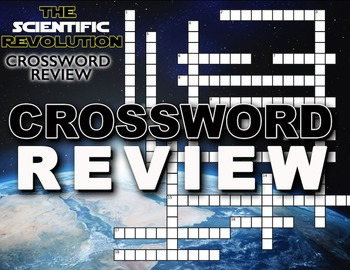 Scientific Revolution Crossword Puzzle Review