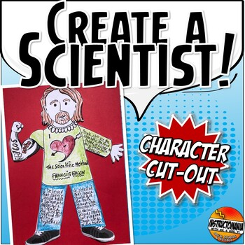 Scientific Revolution Cut Out Doll Activity or Mini Project FUN