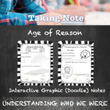 Scientific Revolution & Enlightenment Guided Graphic Doodle Notes