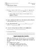 Scientific Revolution & Enlightenment Review Sheet