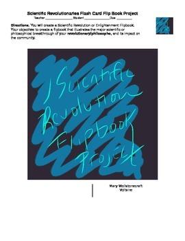 Scientific Revolution - Enlightenment Thinker Flip Book Project (World History)