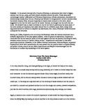Scientific Revolution Galileo Primary Source Worksheet.  H
