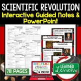 Scientific Revolution Guided Notes PowerPoints Digital Distance Learning & Print
