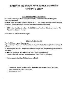 revolution how does it represent new ideas and change scientific revolution how does it represent new ideas and change essay