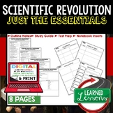 Scientific Revolution Outline Notes JUST THE ESSENTIALS Unit Review