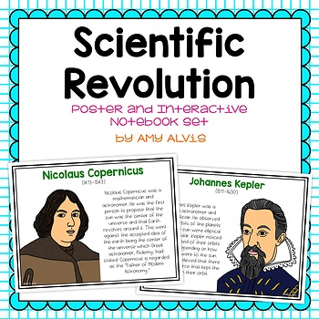 Scientific Revolution Poster and Interactive Notebook INB Set