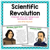Scientific Revolution Poster and Interactive Notebook INB Set