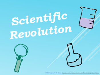 Scientific Revolution PowerPoint with Questions and Outline Included