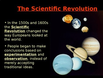 Scientific Revolution Powerpoint Honors