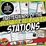 Scientific Revolution Stations Activity & Mini Labs Distan