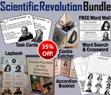 Scientific Revolution Task Cards and Activities Bundle