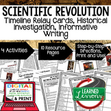 Scientific Revolution Timeline, Investigation, & Writing (Paper and Google )