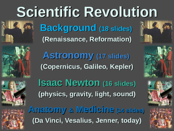 Scientific Revolution Unit (PART 3 ISAAC NEWTON) textual, visual, engaging