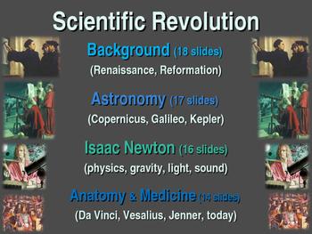 Scientific Revolution Unit (PART 4 ANATOMY & MEDICINE) textual, visual, engaging