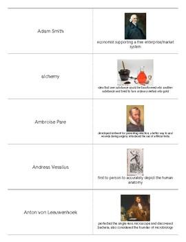 Scientific Revolution and Enlightenment Period Flashcards