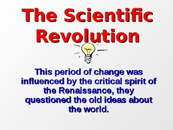 Scientific Revolution and Enlightenment PowerPoint