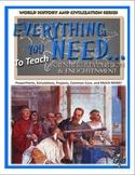 Scientific Revolution and Enlightenment Unit Plan (Complete Lesson Plans)