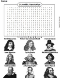 Scientific Revolution and the Enlightenment Activity/ Word Search Mini-Bundle