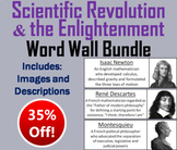 Scientific Revolution and the Enlightenment Word Wall Bundle